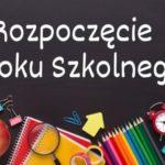 Rok szkolny 2020/2021 rozpoczęty !