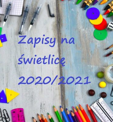 Działalność świetlicy w nowym roku szkolnym 2020/2021